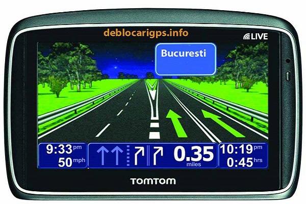 Tom Tom Go 950 actualizare mod camion