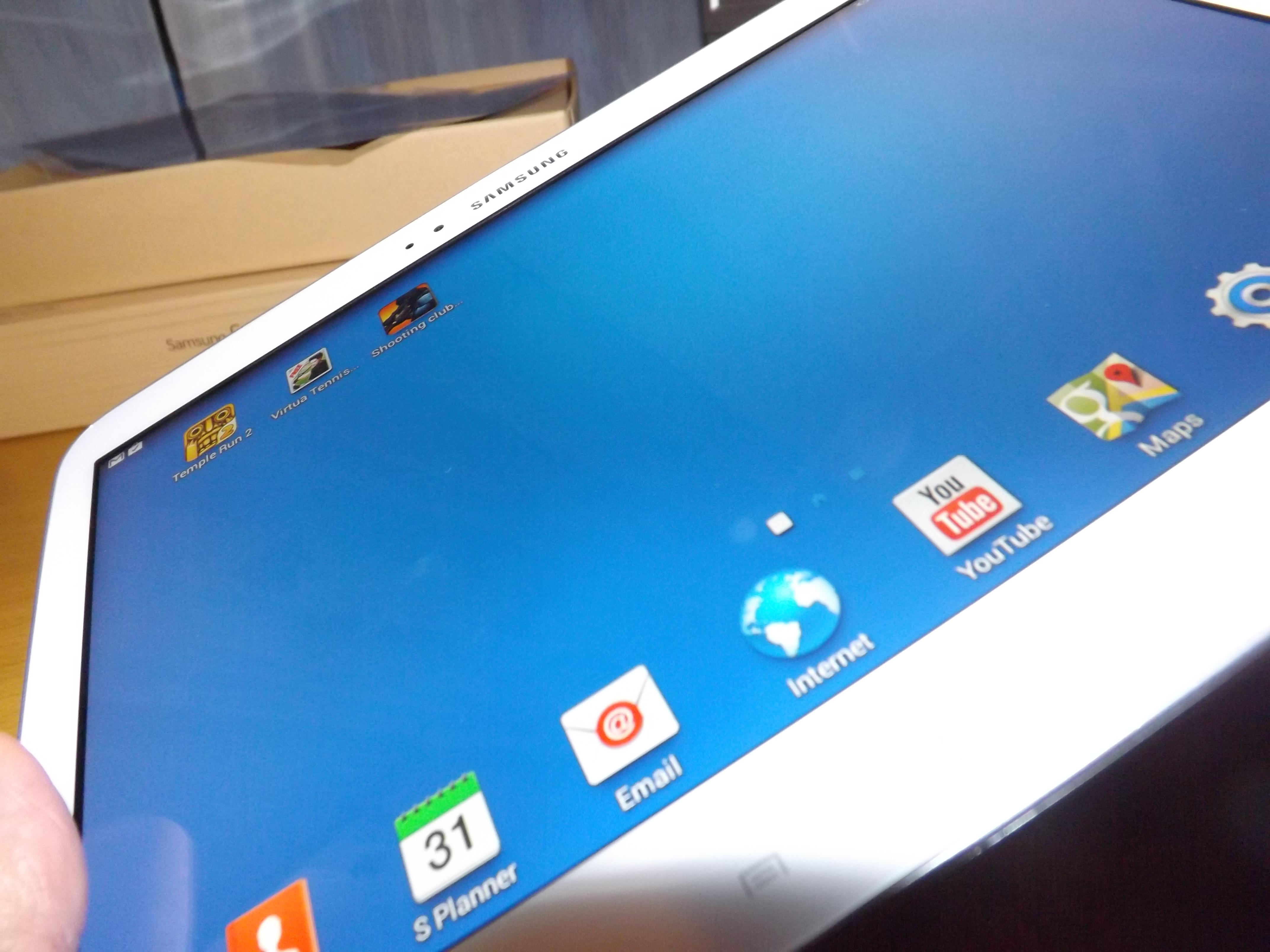 Samsung Galaxy Tab 3 P5210 frontal