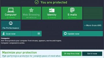 avg top 3 antivirusi gratuiti