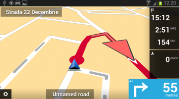 tomtom android ruta