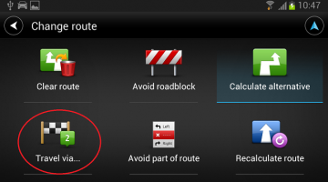 punct intermediar tomtom android