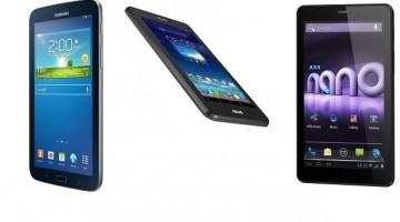 3 tablete bune cu 3 G si telefon
