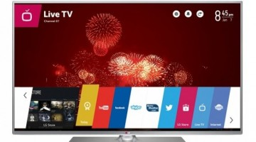 imagine cu tv smart si 3d Lg 42LB650v
