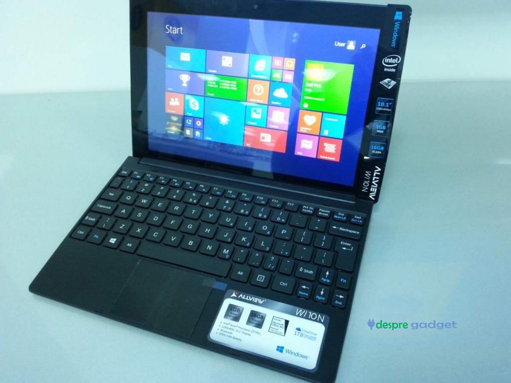 Tableta Allview Wi10N cu Windows