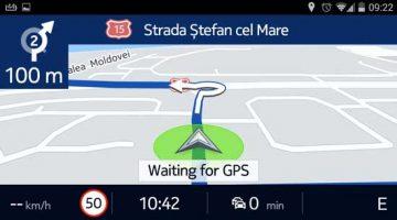 Aplicatie navigatie premium HERE Maps pentru Android