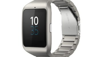 sony smartwatch 3 metalic