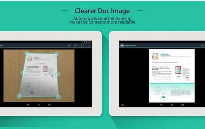 camscanner aplicatie de scanare pentru Android