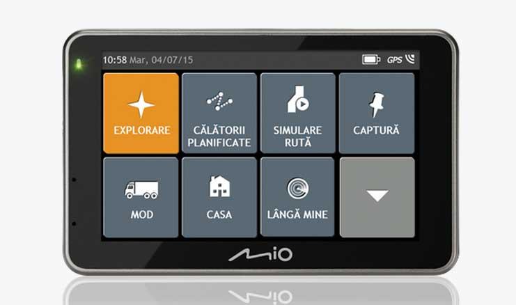 gps si camera video auto de la Mio - Combo 5207