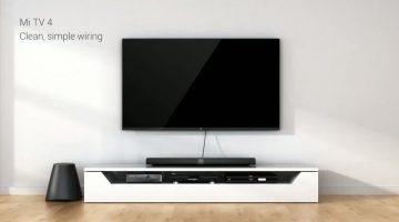Cel mai subtire televizor vine de la Xiaomi