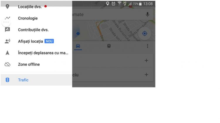 share locatie proprie in google maps