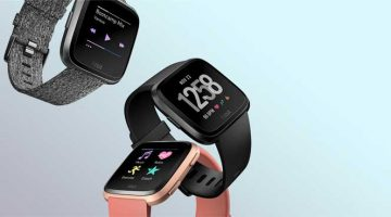 noul smartwatch fitbit versa 2018